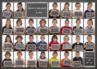 Exemple de photo de classe originale