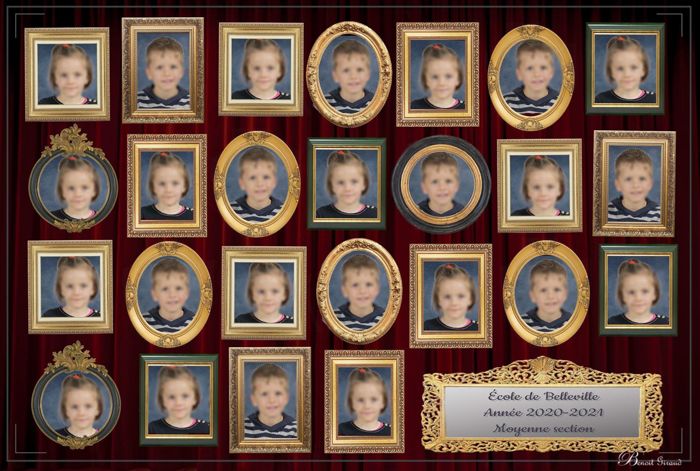 Exemple photo de classe originale